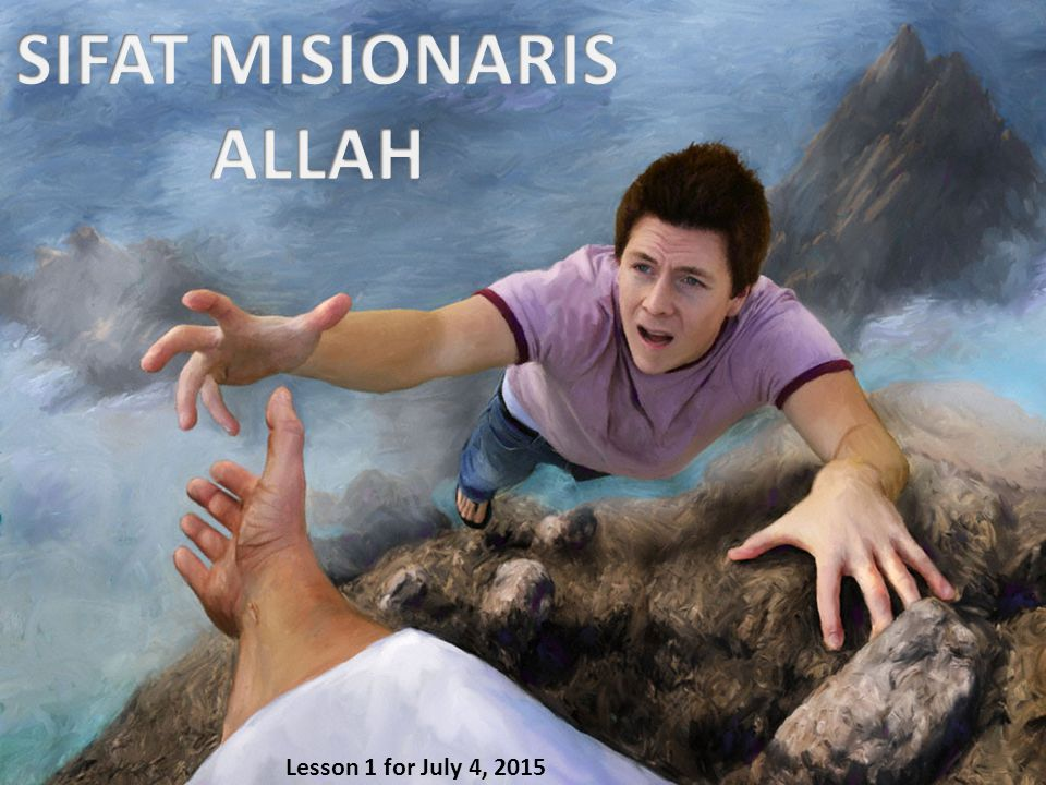 Allah menciptakan manusia Dia memberikan kebebasan berkehendak Manusia jatuh dalam dosa Allah adalah misionaris pertama Kita juga adalah misionaris