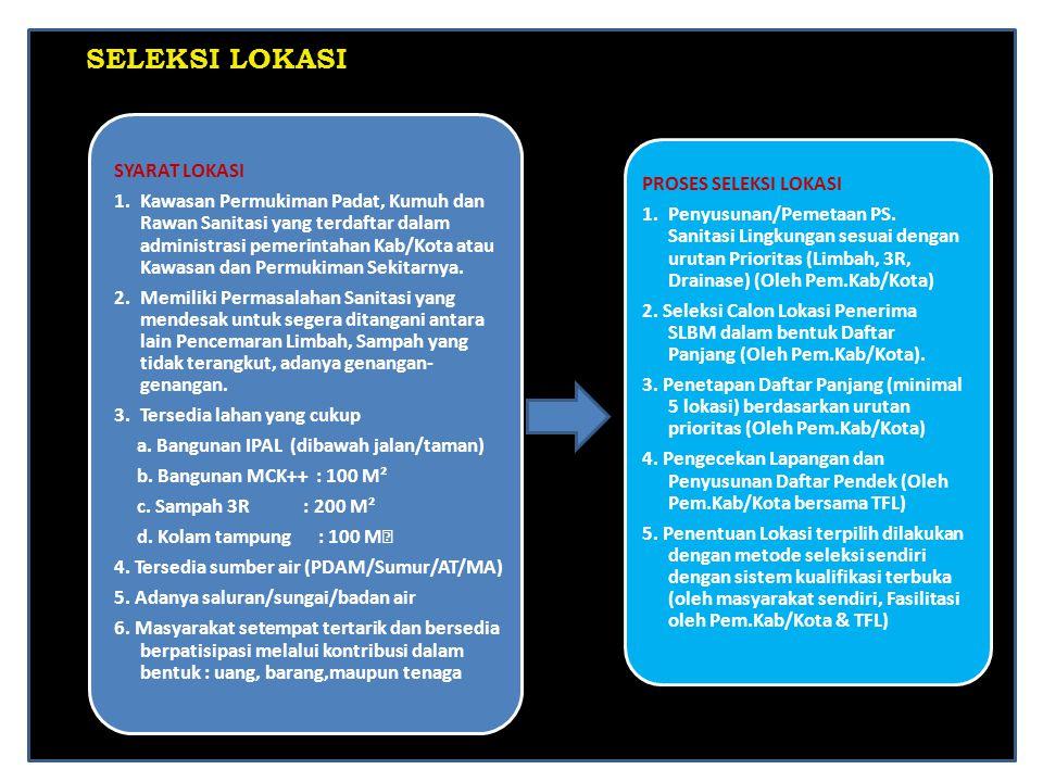 9 Sistem Perpipaan Komunal Septictank Komunal MCK Plus ++ JENIS PENGELOLAAN AIR LIMBAH KOMUNAL BERBASIS MASYARAKAT