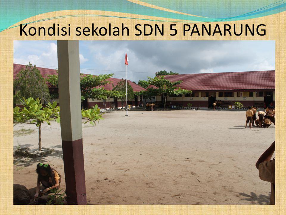 Kondisi sekolah SDN 5 PANARUNG