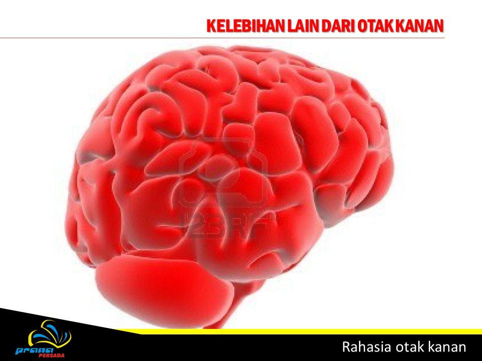 KELEBIHAN LAIN DARI OTAK KANAN Rahasia otak kanan