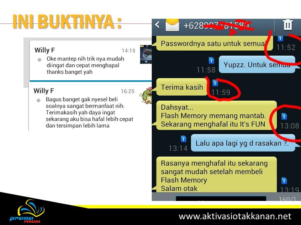 www.aktivasiotakkanan.net INI BUKTINYA :