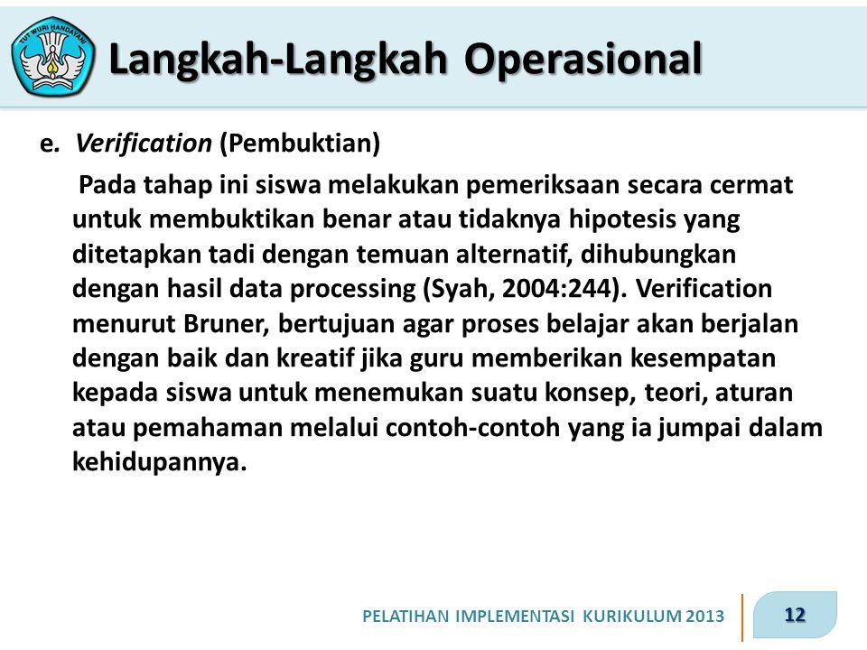 12 PELATIHAN IMPLEMENTASI KURIKULUM 2013 e.