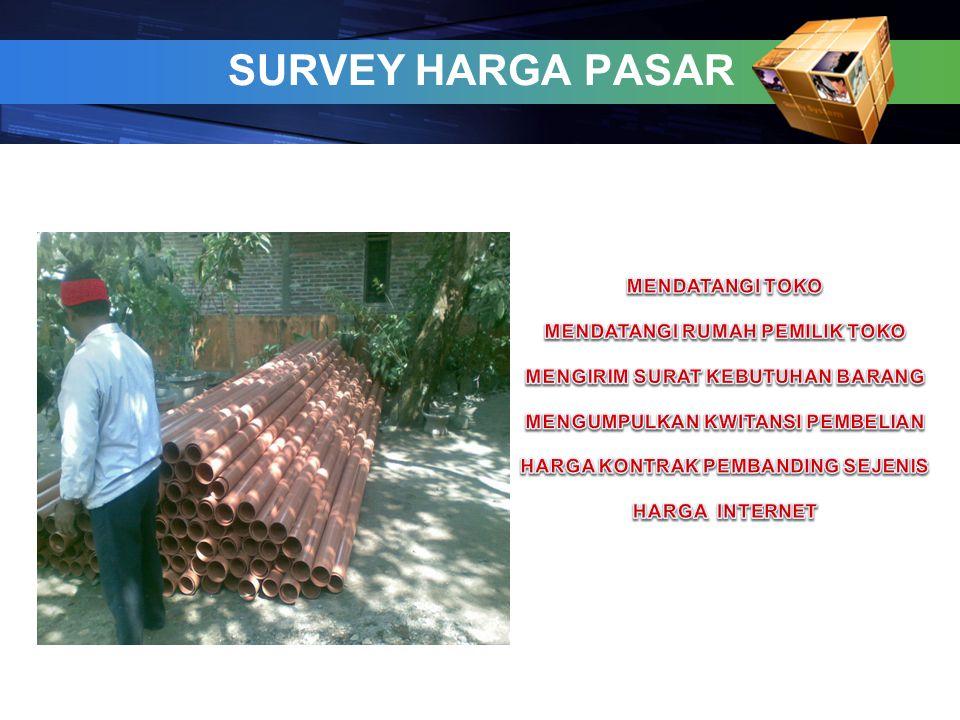 SURVEY HARGA PASAR 6