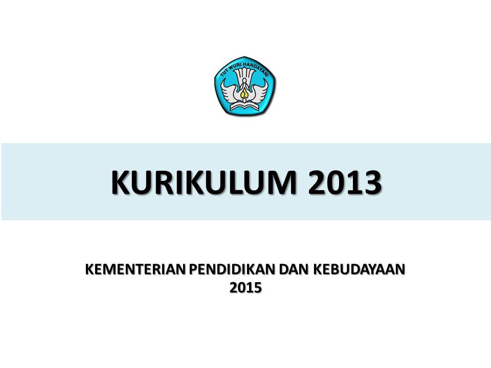 32 PELATIHAN IMPLEMENTASI KURIKULUM 2013 3.
