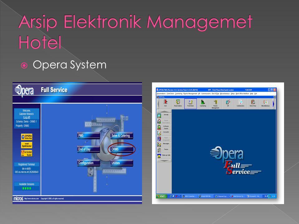  Opera System