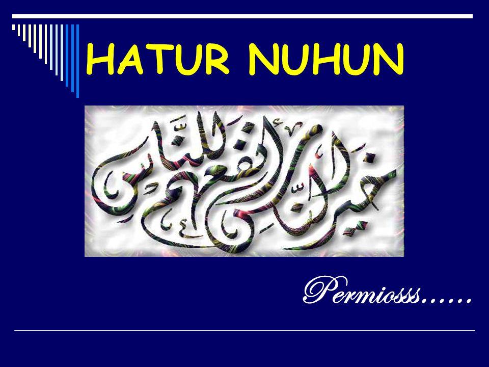 HATUR NUHUN Permiosss……