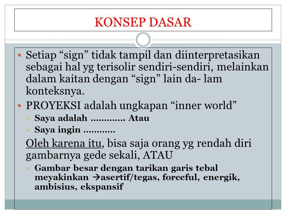 """KONSEP DASAR  Setiap """"sign"""" tidak tampil dan diinterpretasikan sebagai hal yg terisolir sendiri-sendiri, melainkan dalam kaitan dengan """"sign"""" lain da"""
