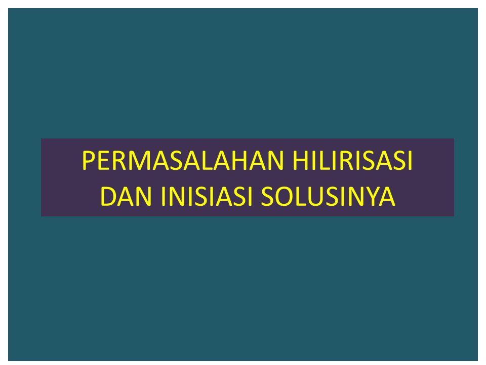 PERMASALAHAN HILIRISASI DAN INISIASI SOLUSINYA
