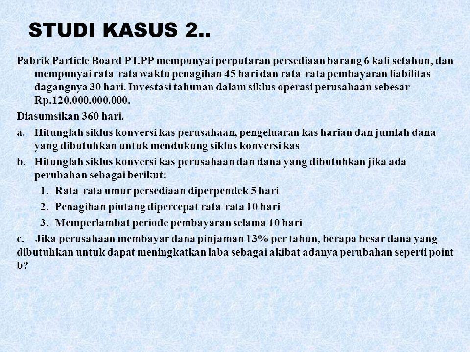 STUDI KASUS 2..