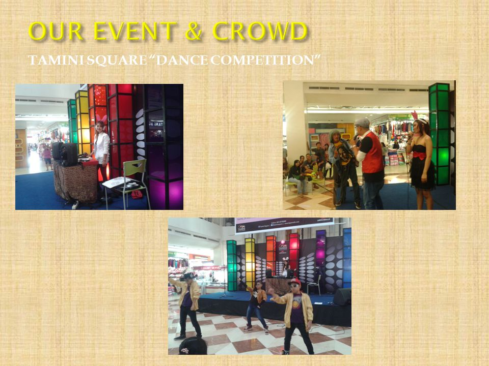 "TAMINI SQUARE ""DANCE COMPETITION"""