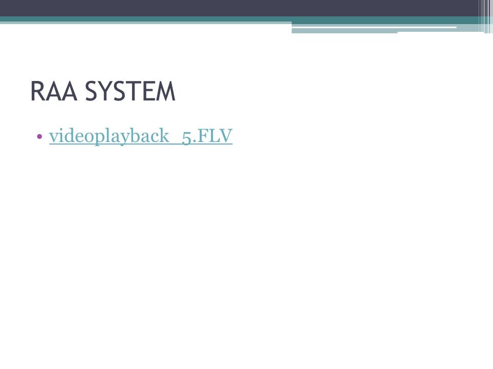 RAA SYSTEM videoplayback_5.FLV