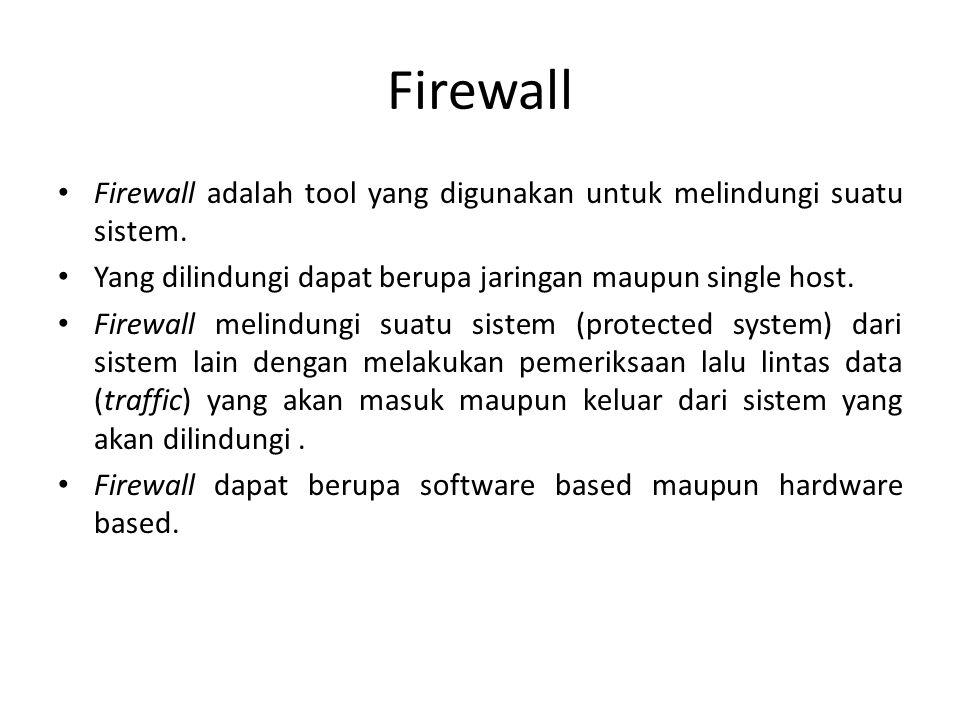 Multihomed Server dapatdigunakan untuk melindungi internal network.