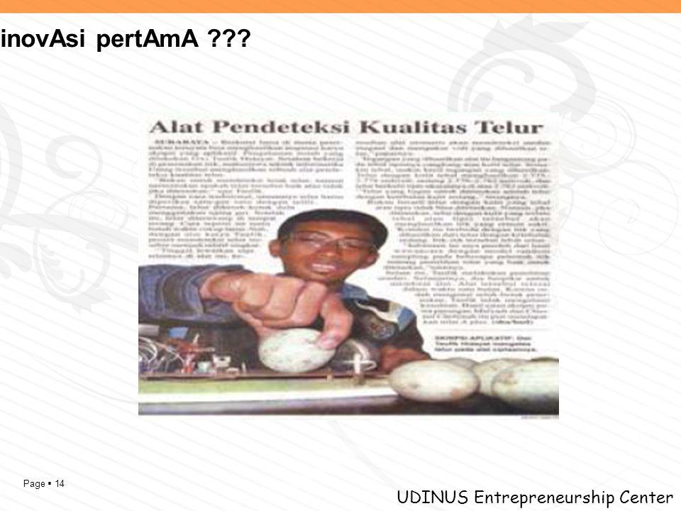 Page  14 UDINUS Entrepreneurship Center inovAsi pertAmA ???