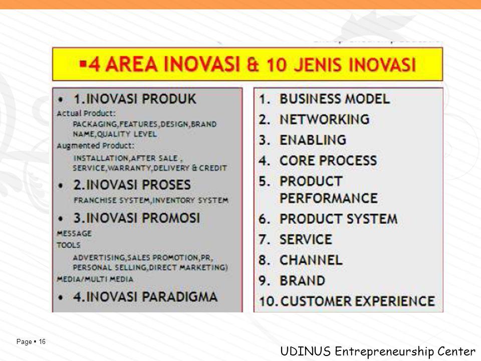 Page  16 UDINUS Entrepreneurship Center
