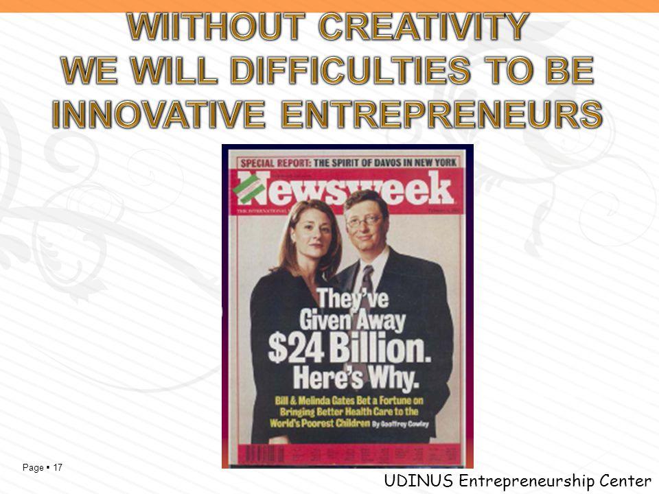 Page  17 UDINUS Entrepreneurship Center