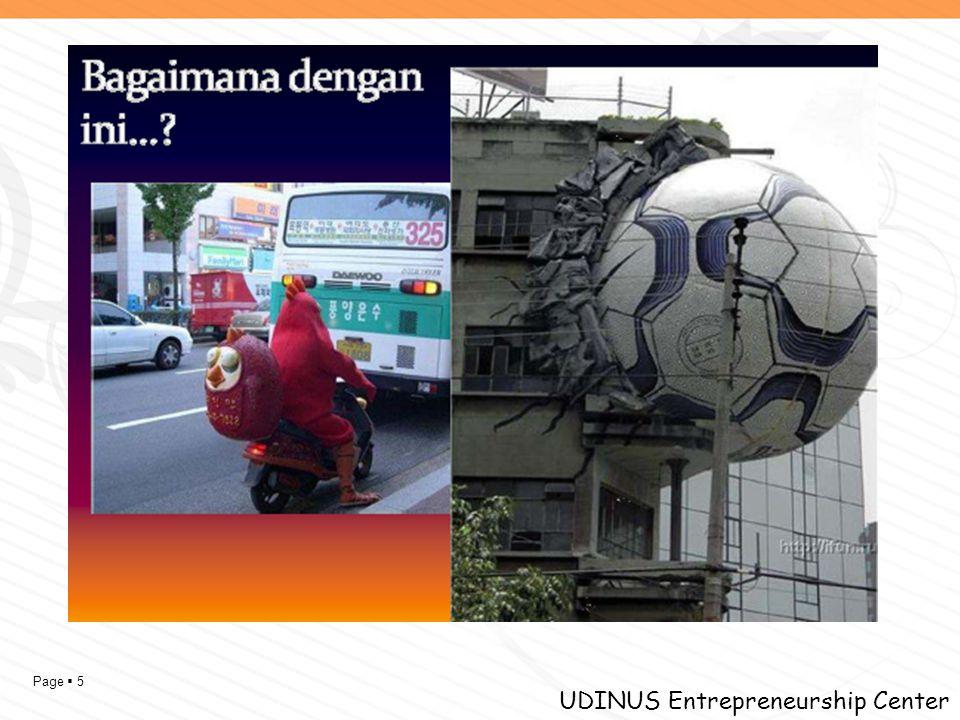 Page  5 UDINUS Entrepreneurship Center