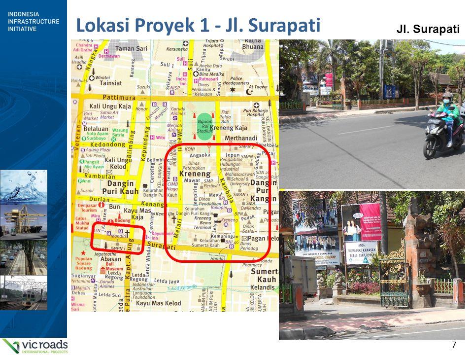 7 Lokasi Proyek 1 - Jl. Surapati Jl. Surapati