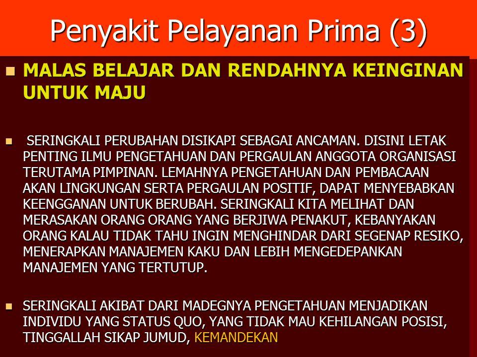 PENGEMBANGAN KUALITAS PELAYANAN DI UPT/UPTD KEMENSOS