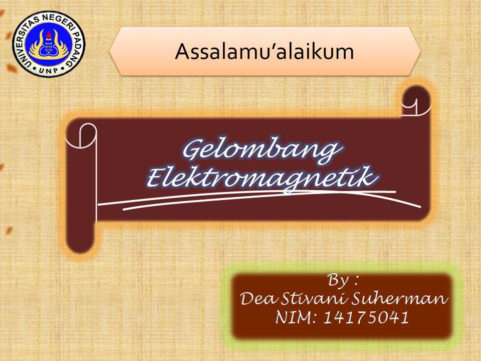Gelombang Elektromagnetik Soal 4 Gelombang Elektromagnetik yang mempunyai panjang gelombang terpanjang adalah ….
