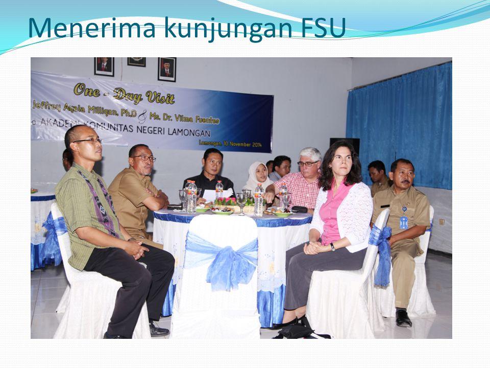 Menerima kunjungan FSU