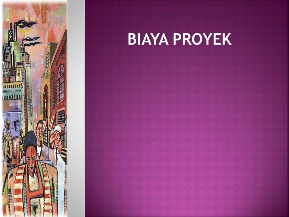BIAYA PROYEK