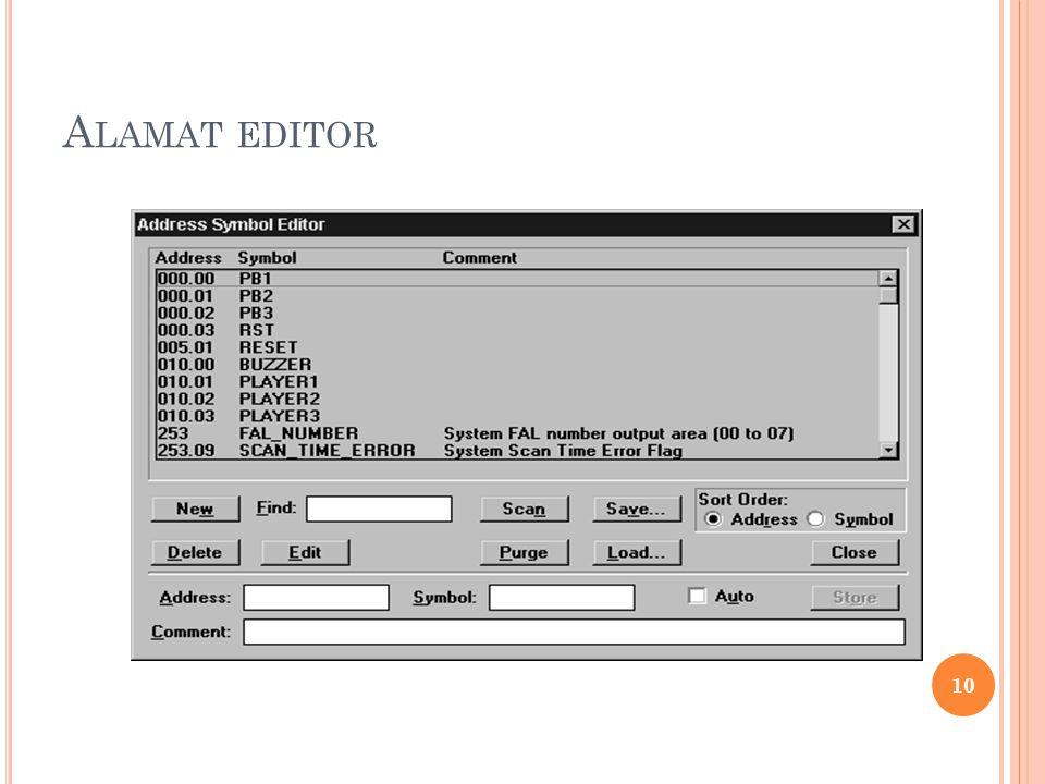 A LAMAT EDITOR 10