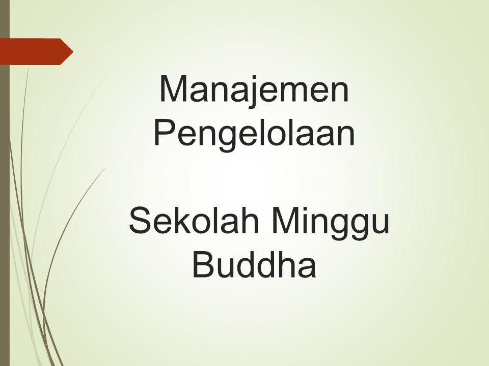 Manajemen Pengelolaan Sekolah Minggu Buddha