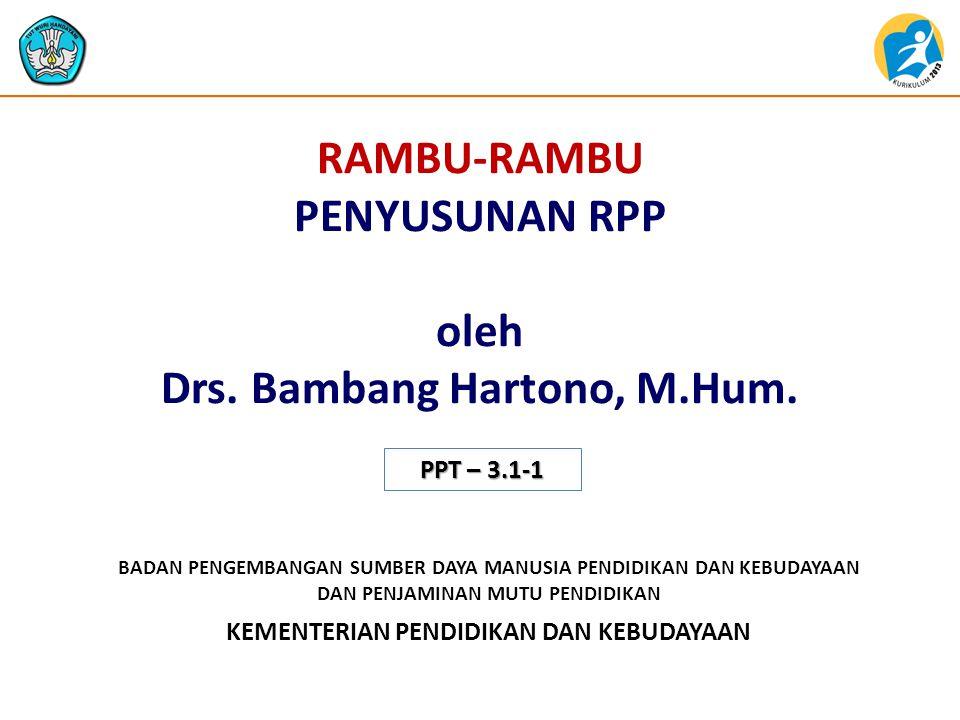 Landasan Penyusunan RPP Dalam PP No.32 Tahun 2013 tentang Perubahan atas PP No.