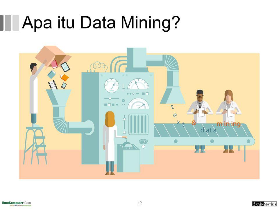 Apa itu Data Mining? 12