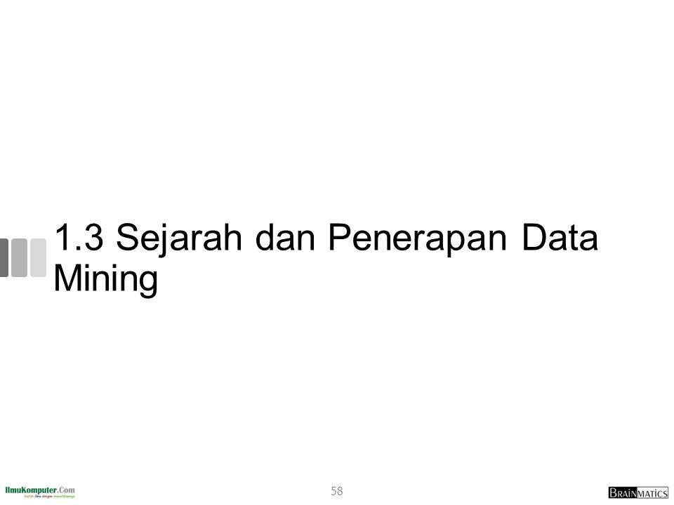 1.3 Sejarah dan Penerapan Data Mining 58