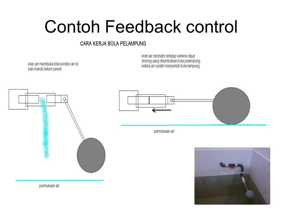 Contoh Feedback control 21