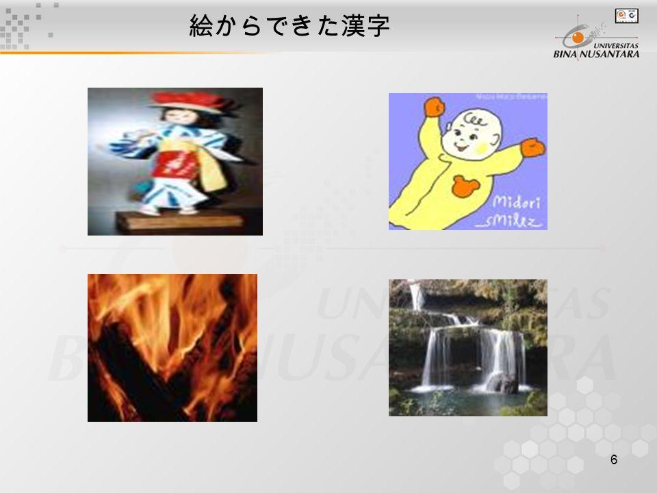 6 絵からできた漢字