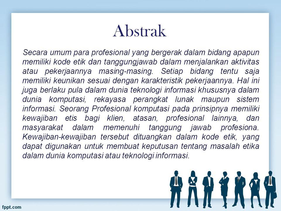 Profesional berasal dari kata PROFESI yaitu suatu yang melekat pada seseorang yang memberikan jasa atau keterampilan yang dimilikinya bagi orang lain, maka profesional merupakan sebutan pelakunya.