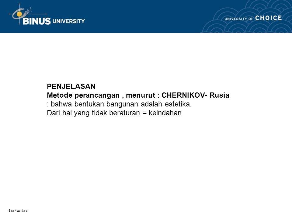 Bina Nusantara 1