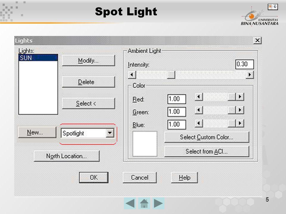 5 Spot Light