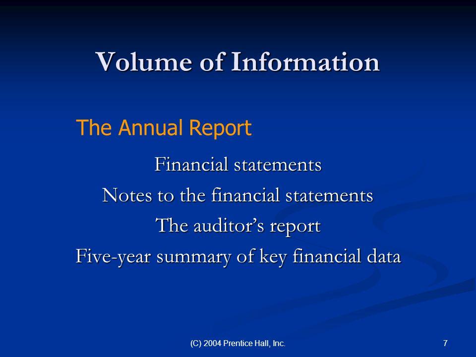8(C) 2004 Prentice Hall, Inc.