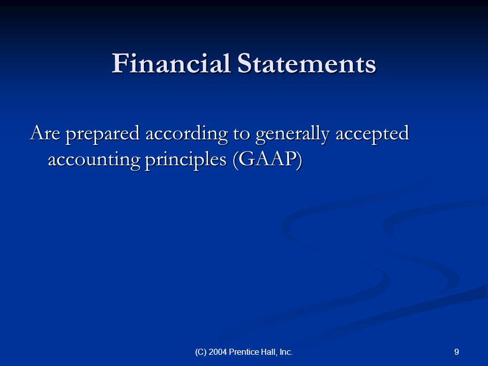 10(C) 2004 Prentice Hall, Inc.