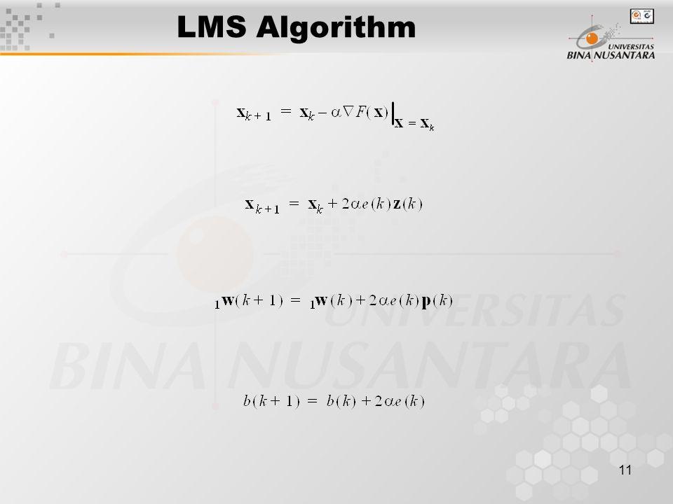 11 LMS Algorithm