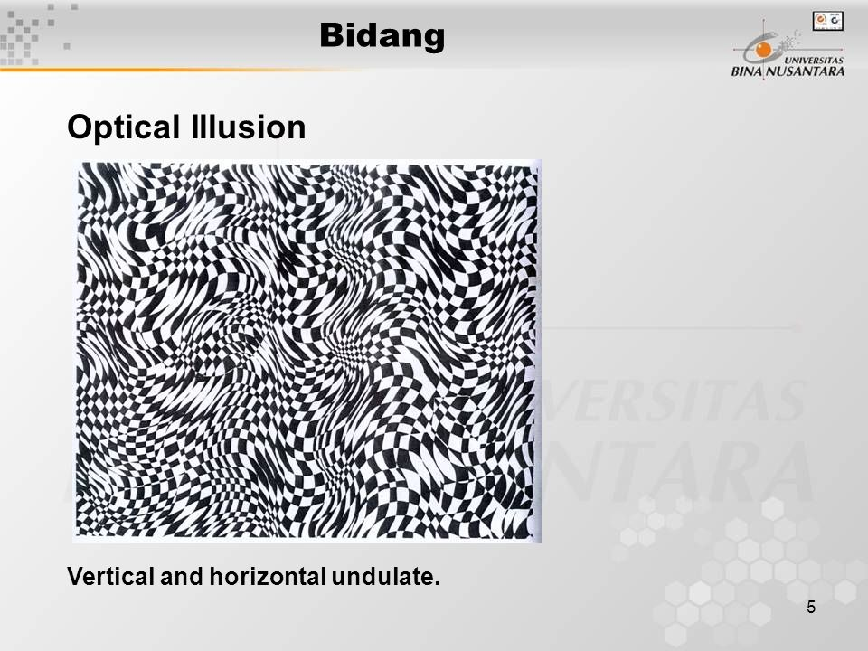 6 Bidang Optical Illusion Movement