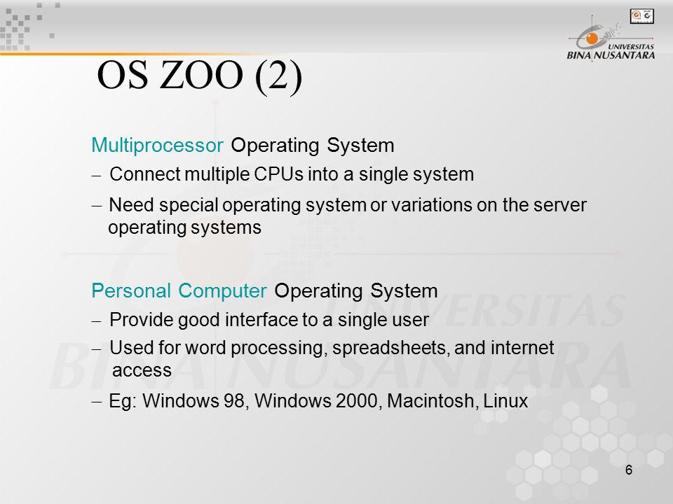 17 Virtual address –address yang dihasilkan dari program Physical address –address yang dipakai oleh memory MMU (Memory Management Unit) –device yang melakukan pemeriksaan dan mapping Contect switch –peralihan dari suatu program kepada yang lainnya