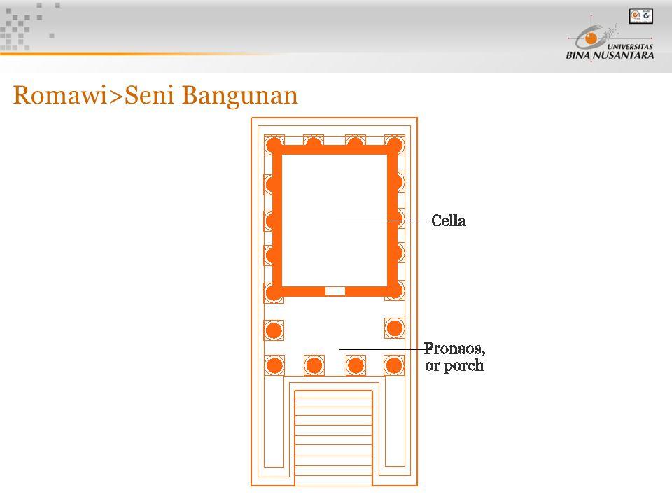 5 Romawi>Seni Bangunan