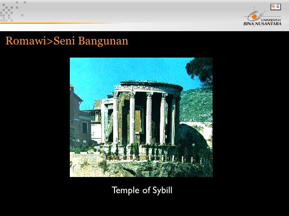 7 Romawi>Seni Bangunan