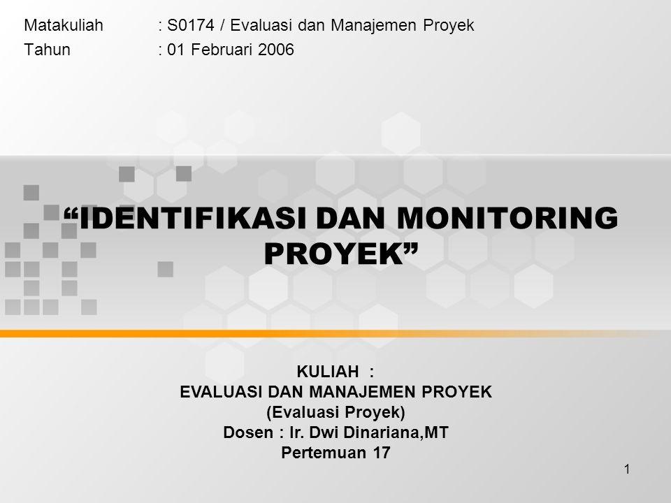 12 4 Mengidentifikasi komponen-komponen proyek, baik komponen produksi, lembaga pendukung, sosial ekonomi maupun penjadwalan proyek.