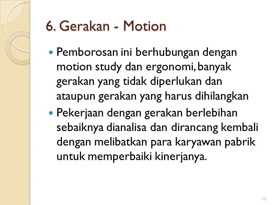6.Gerakan - Motion 6.