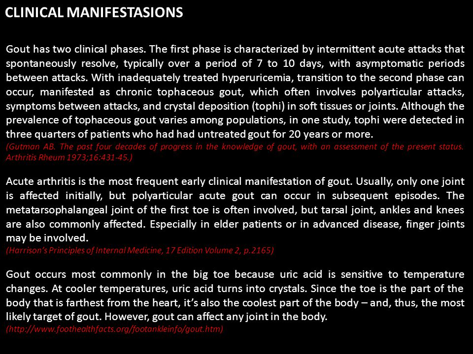 Ultimate control of gout requires correction of the basic underlying defect, the hyperuricemia.