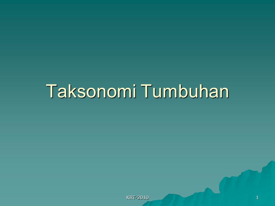 KRT-2010 1 Taksonomi Tumbuhan