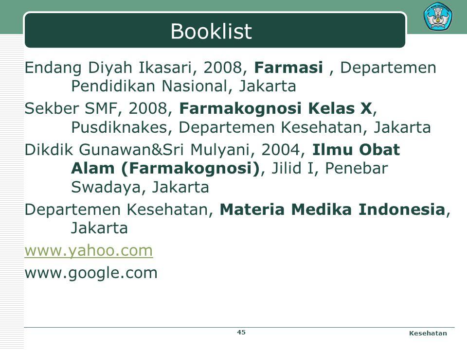 Microscopic Sappan Lignum Powder Kesehatan 44 Sumber: Materia Medika Indonesia