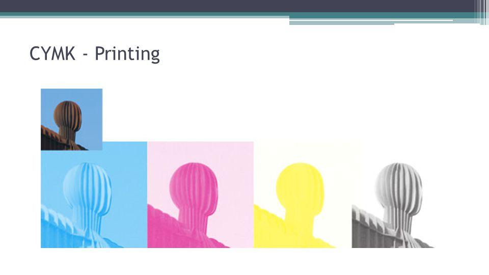 CYMK - Printing
