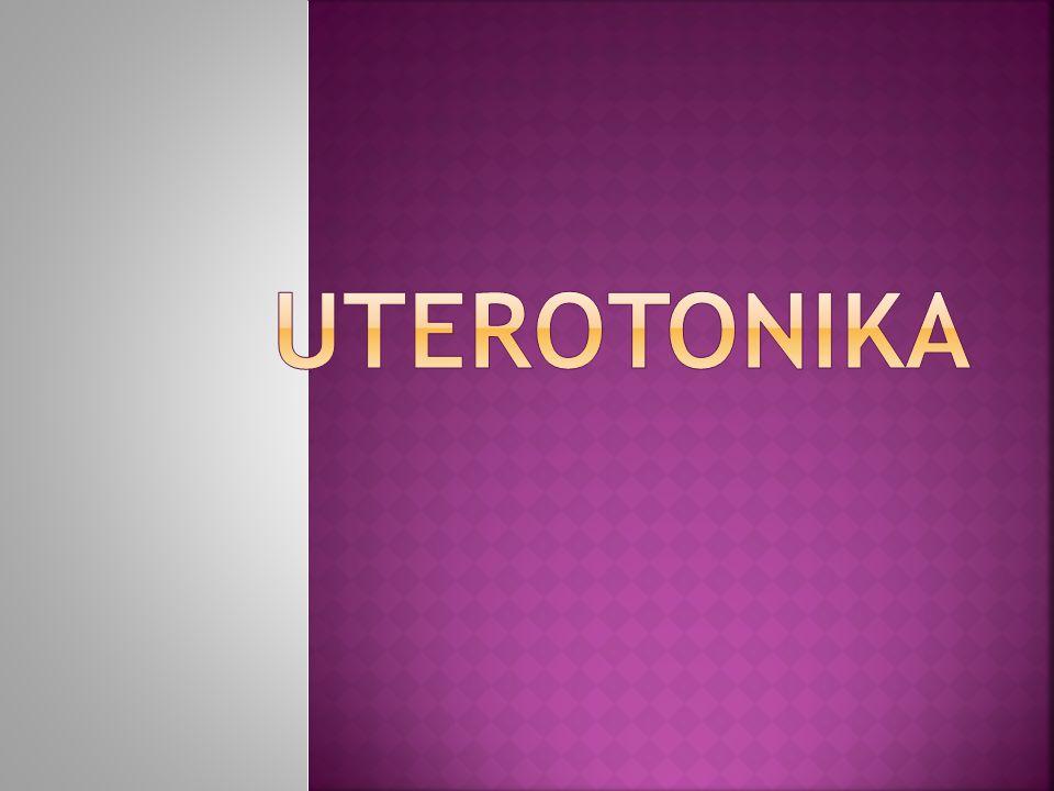  obat-obat yang meningkatkan kontraksi uterus.