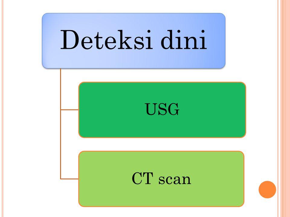 Deteksi dini USGCT scan